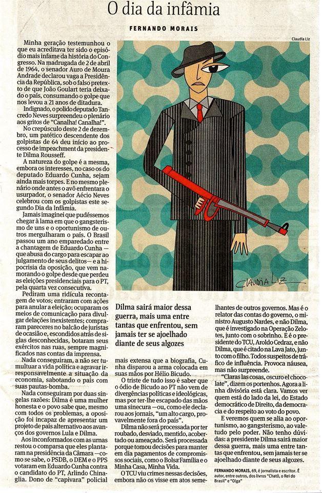 O dia da infamia_Fernando Morais